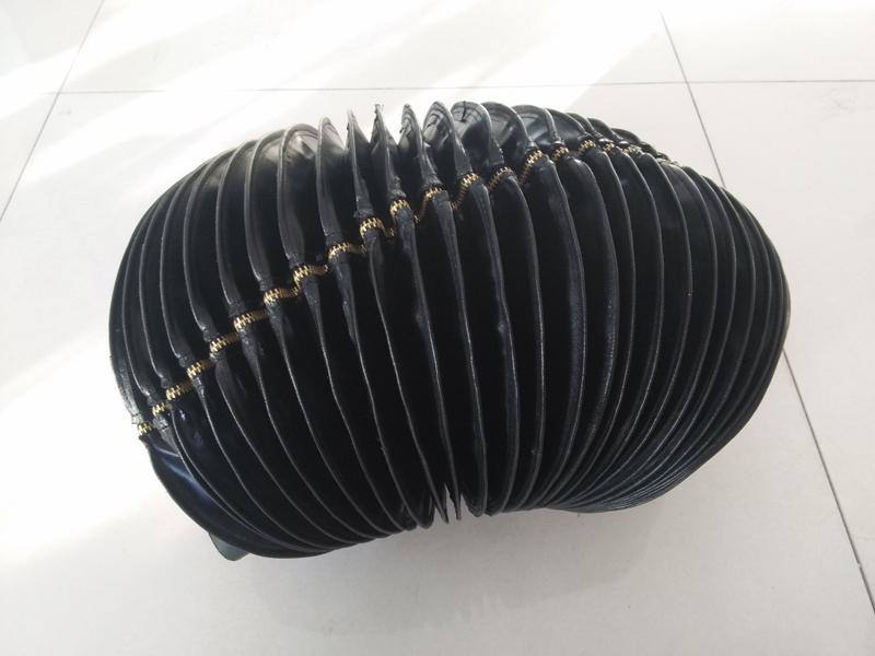 伸缩式丝杠防护罩9