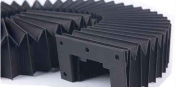 风琴式导轨防护罩的安装方式