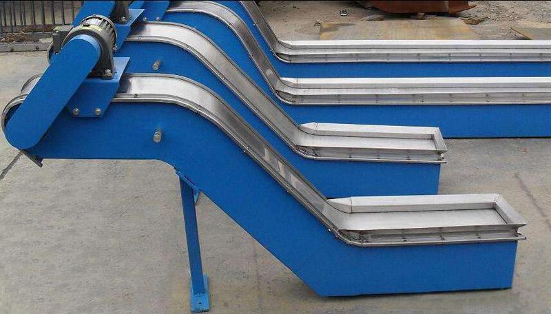 磁性板式排屑机7