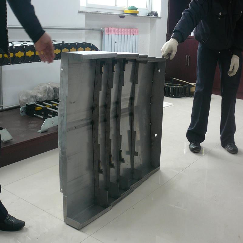 钢板机床导轨防护罩3