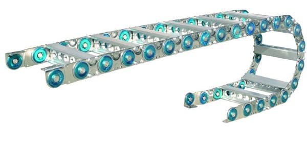 钢制拖链运行行程超长下垂怎么办?