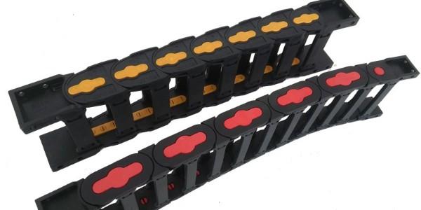 工程塑料拖链/全封闭工程塑料拖链/桥式工程塑料拖链的长度计算?
