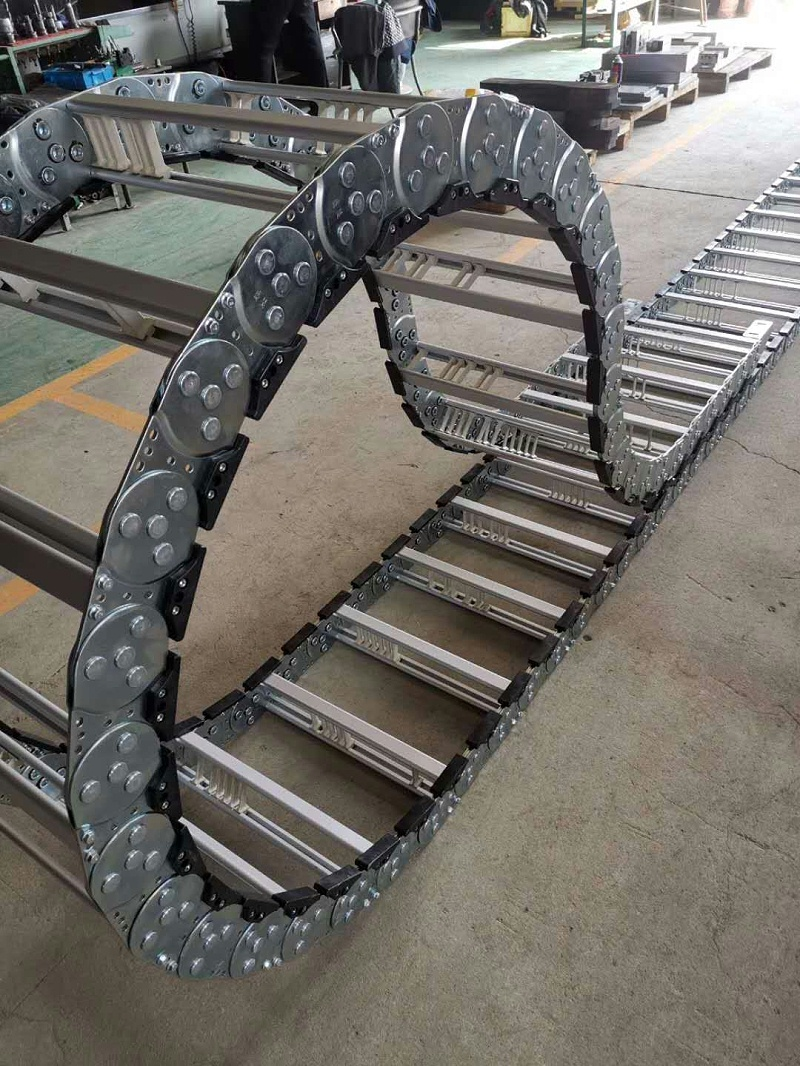 河北瑞奥 钢制钢铝拖链