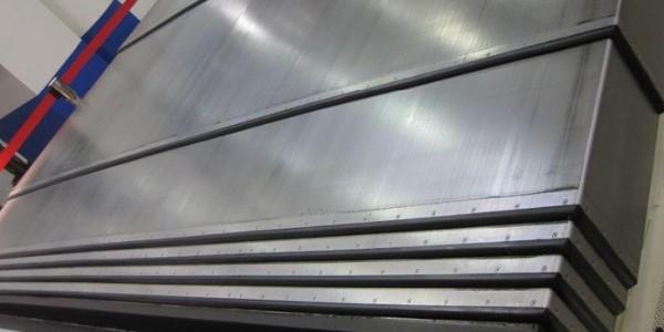 机床钢板防护罩可以做多厚的