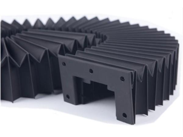 耐磨耐高温机床防护罩 风琴防护罩