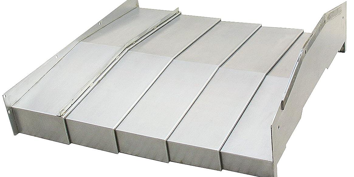防护罩保护机床导轨并抵御大量的灰尘