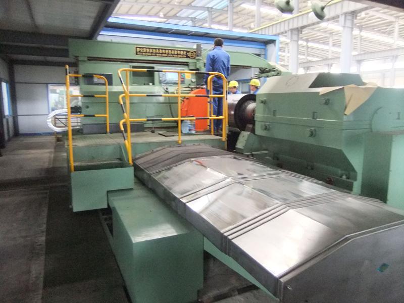 钢板机床导轨防护罩9
