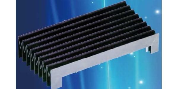 风琴式机床防护罩外形及使用说明