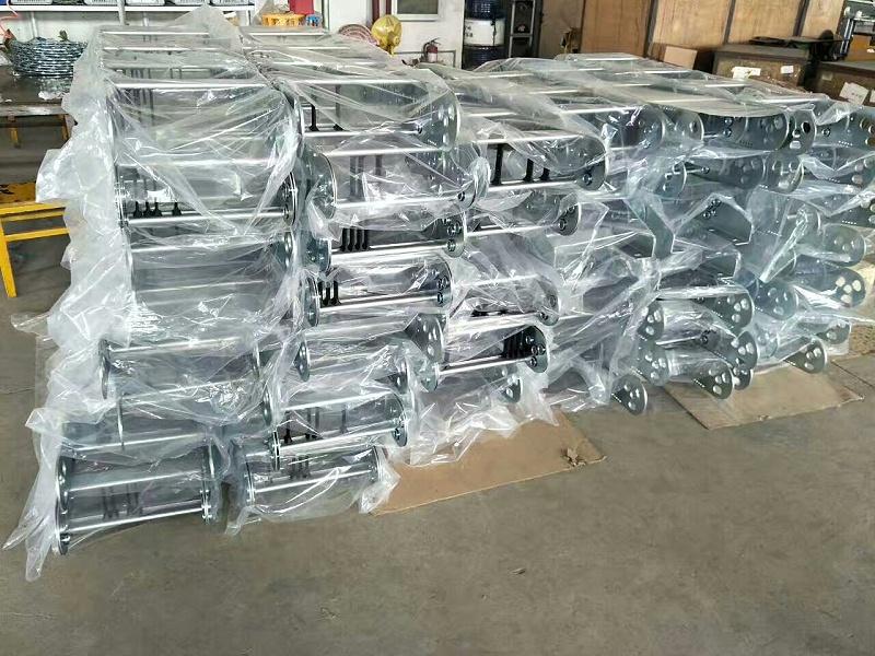 河北瑞奥钢制拖链铣床大型机床专用重型钢铝拖链