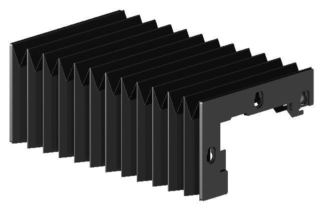 风琴防护罩河北瑞奥机件制造有限公司