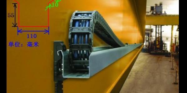 什么情况下工程塑料拖链使用导向槽