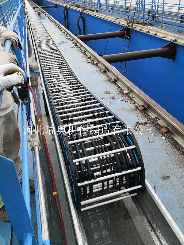 塑料拖链 塑铝拖链