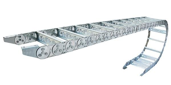 钢制拖链 钢铝拖链