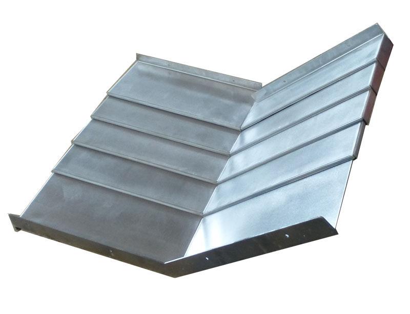 钢板机床导轨防护罩8