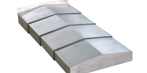 数控机床钢板防护罩材质讲解