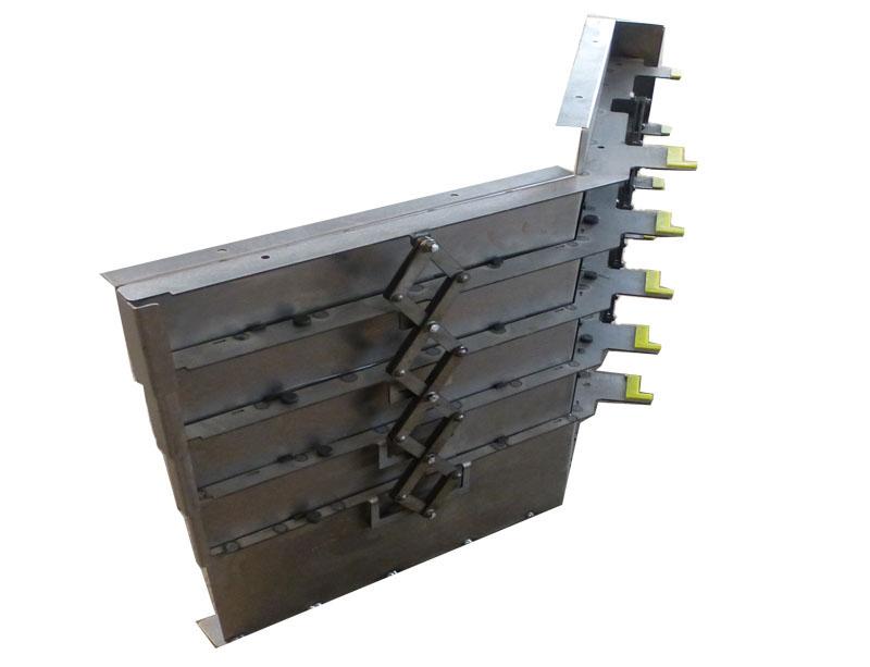 钢板机床导轨防护罩12