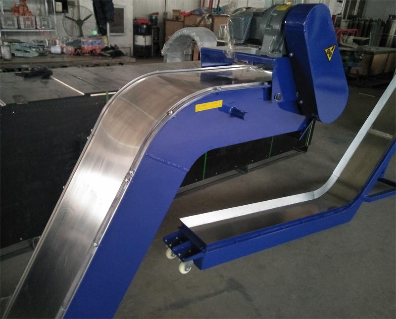 磁性板式排屑机8