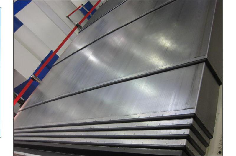 钢板机床导轨防护罩11