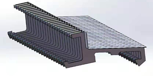 风琴防护罩3D模型——找河北瑞奥