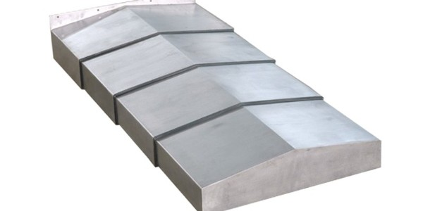 机床导轨钢板防护罩怎么安装?